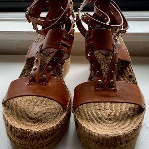 Jimmy Choo Shoes - JIMMY CHOO DANICA WEDGE ESPADRILLES SZ 39.5 (US9)